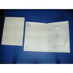 boitier dvd  blanc noir ou transparent
